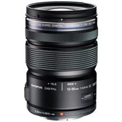 Olympus-M.Zuiko Digital ED 12-50mm F3.5-6.3 EZ - Black-Lenses - SLR & Compact System
