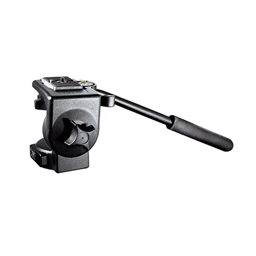 Manfrotto-128RC micro fluid video head with QRCP-Tripod Heads