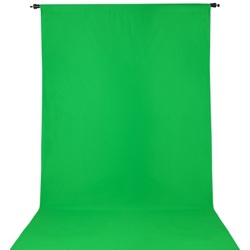 ProMaster-Wrinkle Resistant Backdrop 10'x12' - Chroma-Key Green #2904-Backgrounds