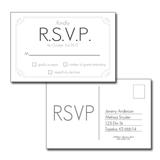 R.S.V.P. Cards