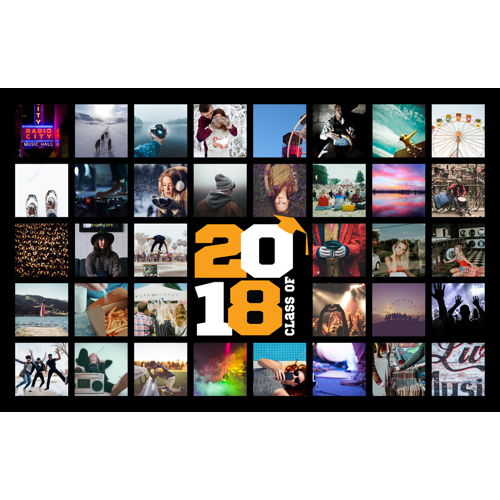 2018 Grad Collage - B (11x17)
