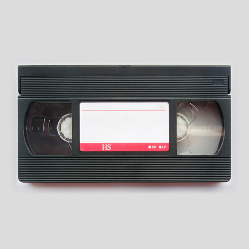 Video-VHS, 8mm video, Mini DVD, Mini DV, VHS-C  tapes