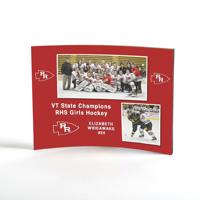 5x7 Curved Acrylic Photo Panel FREESTYLE (Horizontal)