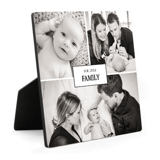 6x6 Easel Print - Our Little Family
