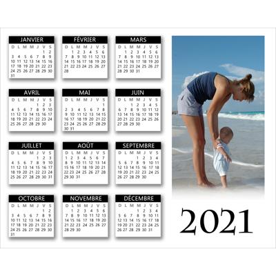 """200x250mm (10 x 8"""") Poster Calendar"""