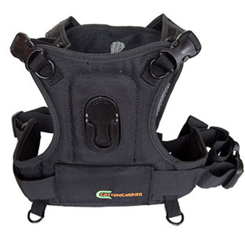 Cotton Carrier-Camera System for all camera types - Black-Camera Straps & Vests