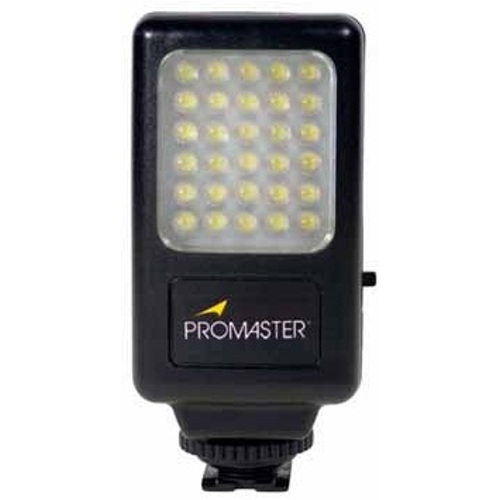 Promaster led30 camera and camcorder light 7193 studio lights promaster led30 camera and camcorder light 7193 studio lights aloadofball Choice Image