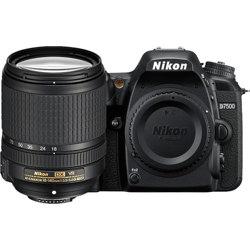 Nikon-D7500 DSLR Camera with AF-S 18-140mm ED VR Lens - Black-Digital Cameras