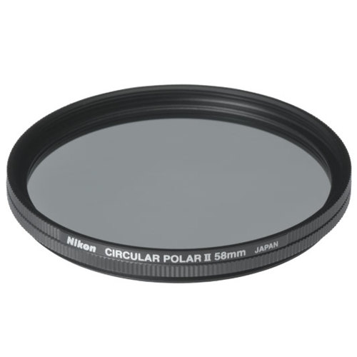 Nikon-58mm Circular Polarizer II -Filters