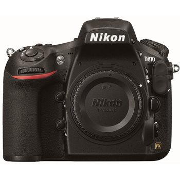 Nikon-D810 DSLR Camera - Body Only - Black-Digital Cameras