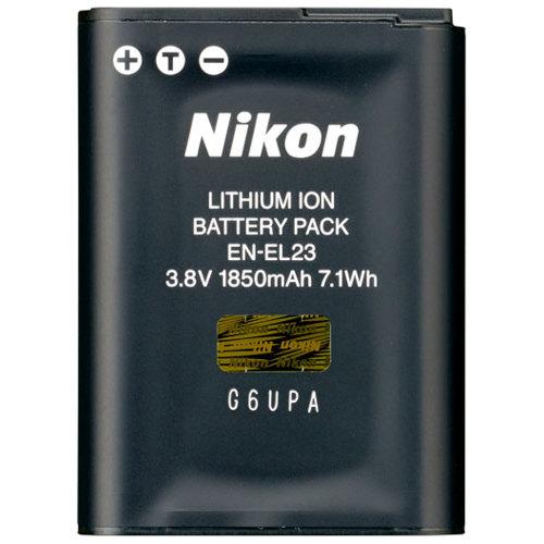 Nikon-EN-EL23 Rechargeable Li-ion Battery-Battery Packs & Adapters