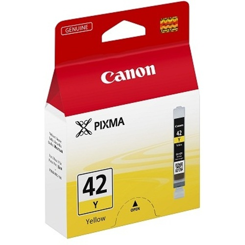 Canon-CLI-42Y - Yellow Ink Cartridge-Ink Cartridges