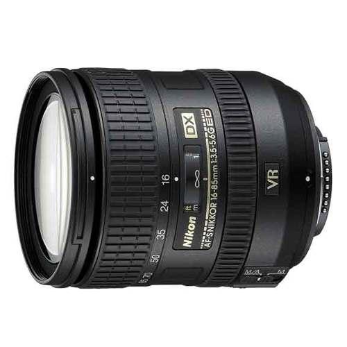 Nikon-AF-S 16-85mm DX Zoom NIKKOR f3.5-5.6G ED VR-Lenses - SLR & Compact System