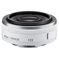 Nikon-1 NIKKOR 10mm f/2.8 - White-Lenses - SLR & Compact System