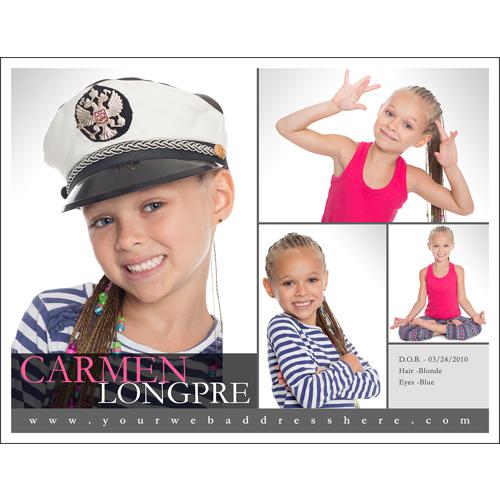 Comp Card - B2X 1S