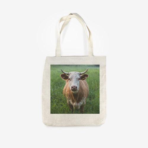 PG Linen Tote Bag