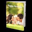 Ens de 24 - Cartes de souhaits pliées 5x7 - Vertical