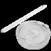 20 oz. White Tumbler with Straw