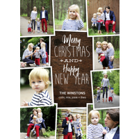 Scrapbook Collage: 10pk Christmas Cards