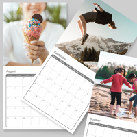 300x300mm - 2022 Wall Calendar - 1 picture per page