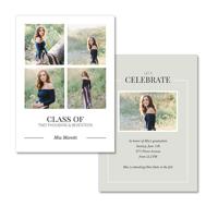 5x7  2 Sided Graduation Card (17-030)