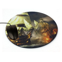 Mouse Pad Circular Shape size 195mm Dia. x 3mm thick  code: MP195C