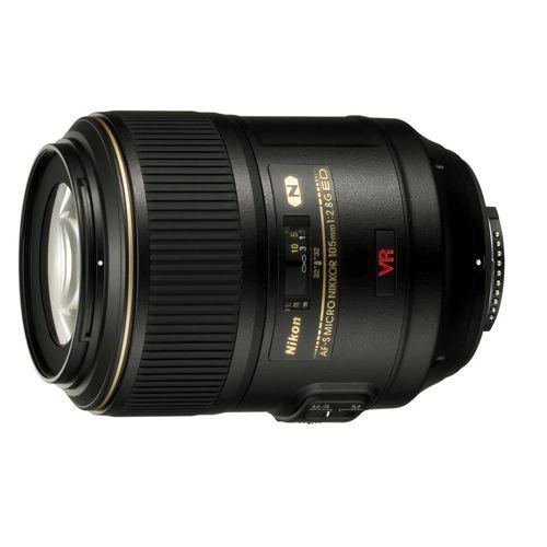 Nikon-AF-S 105mm VRII Micro Nikkor F/2.8 IF-ED-Lenses - SLR & Compact System