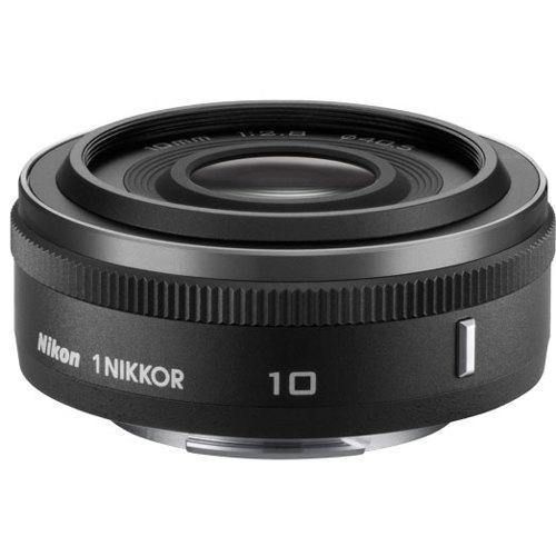 Nikon-1 NIKKOR 10mm f/2.8 - Black-Lenses - SLR & Compact System
