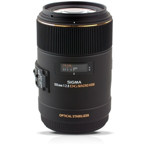 Sigma-105mm F2.8 EX DG OS HSM Macro Lens for Nikon-Lenses - SLR & Compact System