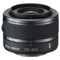 Nikon-1 NIKKOR VR 10-30mm f/3.5-5.6 Lens - Black-Lenses - SLR & Compact System