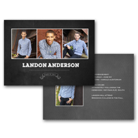 5x7 2 Sided Graduation Card (14-055)