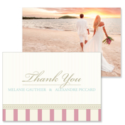 Vintage C - 2 Sided Thank You