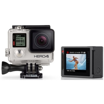 GoPro-HERO4 - Silver Standard Edition #CHDHY-401-Video Cameras