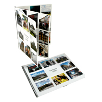 Spiral Bound Proof Booklets 8.5x11