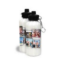 Water Bottle White 600ml 10 Image