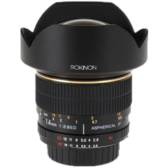14mm f/2 8 IF ED MC Super Wide Angle Lens with Automatic Chip for Nikon