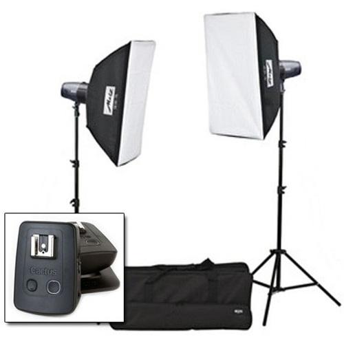 Metz-Mecastudio BL-400 SB / Kit SB II avec Cactus V5 Duo #MZ009214023C-Jeu D'éclairage