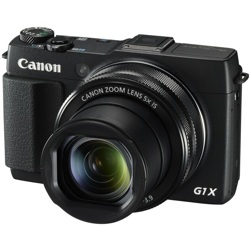 Canon-PowerShot G1 X Mark II Digital Camera - Black-Digital Cameras