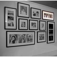 "Set of Three 6x6"" (151x151mm) Photo Wall Frame - Vertical"