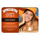 Chalk Grad (Orange) 1 Sided