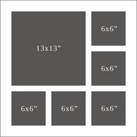 Trade 6 aperture with 13 x 13 & 5 off 6 x 6
