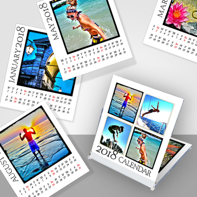 Jewel Case Instgram Calendar - White or Black