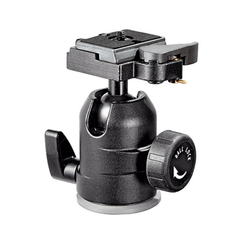 Manfrotto-488RC2 midi ball head with RC0 R.C.SYST.-Tripod Heads