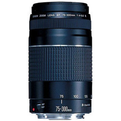 Canon-EF 75-300mm F/4-5.6 III-Lenses - SLR & Compact System