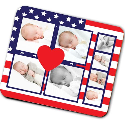 American Flag Mousemat