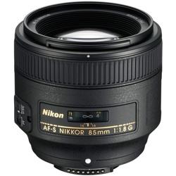 Nikon-AF-S 85mm NIKKOR F/1.8G-Lenses - SLR & Compact System