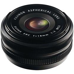 Fujifilm-FUJINON XF 18mm F2 R Lens - Black-Lenses - SLR & Compact System