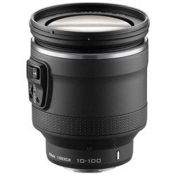 Nikon-1 NIKKOR VR 10-100mm f/4.5-5.6 PD-ZOOM - Black-Lenses - SLR & Compact System