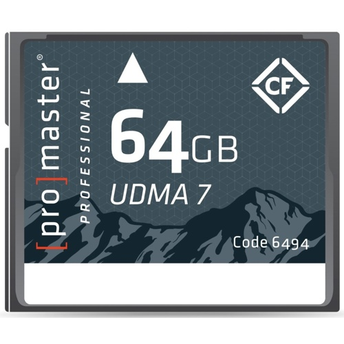ProMaster-64GB Professionelle RUGGED Compact Flash - UDMA 7 #6494-Cartes mémoires, cassettes et disques