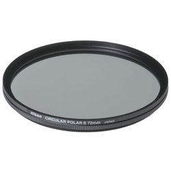 Nikon-72mm Circular Polarizer II-Filters